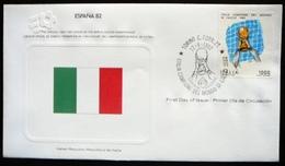 FDC World Championship  Soccer  Espana 82 - Italy  -  Italie - 1982 – Espagne
