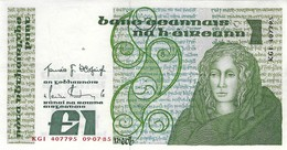 Ireland (CBI) 1 Pound 1985 UNC Cat No. P-70c / IE215c - Ireland