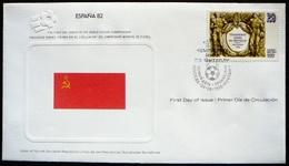 FDC World Championship  Soccer  Espana 82 -   Sovjet Union  -  Union Sovjetique  -  Sovjetunie - 1982 – Espagne
