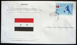 FDC World Championship  Soccer  Espana 82 -   Syria  -  Syrie - 1982 – Espagne