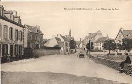 29 - LOCQUIREC - LES HÔTELS SUR LE PORT - Locquirec