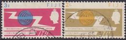 Fiji 1965 SG 341-42 Compl.set Used ITU Centenary - Fiji (...-1970)