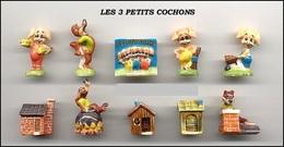 Fèves Série Complète - Les Trois Petits Cochons - Autres