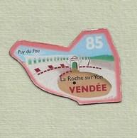"""Magnets. Magnets """"Le Gaulois"""" Départements Français. Vendée (85) - Publicitaires"""