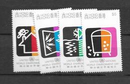 1990 MNH Hong Kong Mi Block 591-4 Postfris** - Hong Kong (...-1997)