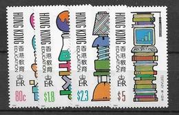 1991 MNH Hong Kong Mi Block 611-14 Postfris** - Hong Kong (...-1997)