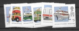 1991 MNH Hong Kong Mi  615-20 Postfris** - Hong Kong (...-1997)