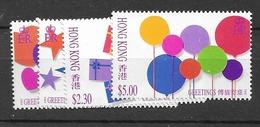 1992 MNH Hong Kong Mi  679-82 Postfris** - Hong Kong (...-1997)