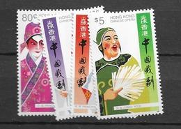 1992 MNH Hong Kong Mi 675-8 Postfris** - Hong Kong (...-1997)