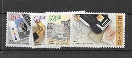 1992 MNH Hong Kong Mi 670-73 Postfris** - Hong Kong (...-1997)