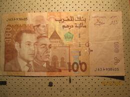 MOROCCO 100 Dirham - Maroc