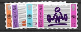 1994 MNH Hong Kong Mi 723-6 Postfris** - Hong Kong (...-1997)