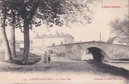 CPA Castelnaudary (11) Le Vieux Pont      Ed Labouche  575 - Castelnaudary