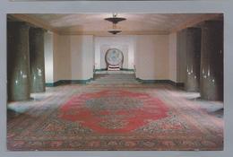 US.- VIRGINIA. ALEXANDRIA. THE GEORGE WASHINGTON MASONIC NATIONAL MEMORIAL. ROYAL PERSIAN MESHED RUG - Alexandria