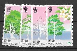 1988 MNH Hong Kong Mi 540-43 Postfris** - Hong Kong (...-1997)