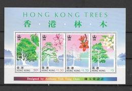 1988 MNH Hong Kong Mi Block 9 Postfris** - Hong Kong (...-1997)