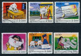 N° YT 3066 à 3071 - (1997) - Oblitérés