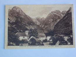 SLOVENIA POST CARD FROM BRETTO MANGARAT E JELOUT EX GORIZIA NOT SEND - Slovénie