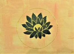 Peinture Fleur De Lotus - Creative Hobbies