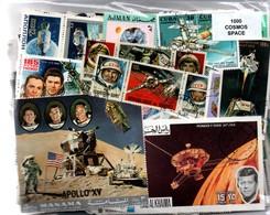 "Lot 1000 Timbres Thematique "" Cosmos "" - Espace"