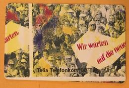 SUÈDE TELIA TELEFONKORT CARTE TEST SANS PUCE PHONECARD TELECARTE CARD - Schweden