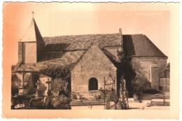 CPSM 02 (Aisne) Cys-La Commune - L'église, Coll. L'Aisne Pittoresque édit. CAM à Vailly-sur-Aisne - Other Municipalities