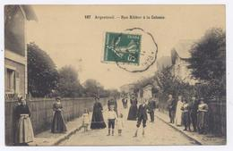 ARGENTEUIL - Rue Kléber à La Colonie - 1912 -bon état - Argenteuil