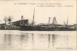 """44 - SAINT NAZAIRE - LE PAQUEBOT """"VERSAILLES"""" DANS LE BASSIN DE PENHOUËT - Saint Nazaire"""