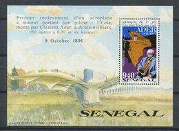 204 SENEGAL 1991 - Yvert BF 36 - Clement Ader - Neuf ** (MNH) Sans Charniere - Senegal (1960-...)