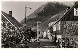 Denmark, Faroe Islands, KUNOY KUNØ, Úr Kunoyar Bygd (1950s) Postcard - Féroé (Iles)