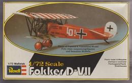 Fokker DVII, Revell1/72e - Vliegtuigen