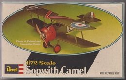 Sopwith Camel, Revell1/72e - Vliegtuigen