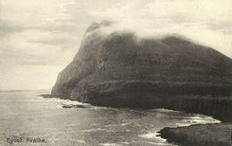 Denmark, Faroe Islands, KVALBØ HVALBA, Eydet, Panorama (1910s) Postcard - Faroe Islands