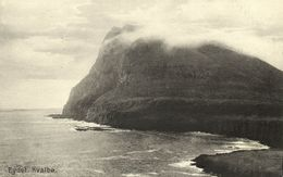 Denmark, Faroe Islands, KVALBØ HVALBA, Eydet, Panorama (1910s) Postcard - Féroé (Iles)