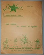 DOCUMENT CATALOGUE PUBLICITAIRE 1968 FIGURINES STARLUX PÉRIGUEUX - Jeux De Société