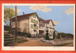 TSU-23 Macolin Magglingen  Sur Bienne Biel Hotel Bellevue. Gelaufen 1913 - BE Berne