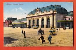 TSU-26 Milano Stazione Centrale. Pub Maggi. Viaggiata Per La Svizzera, Timbre De Surtaxe.1922 - Milano (Milan)