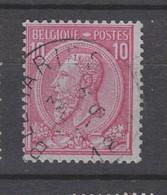 COB 46 Oblitération Centrale BEAURAING - 1884-1891 Léopold II