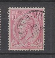 COB 46 Oblitération Centrale LOO-TEN-HULLE - 1884-1891 Léopold II
