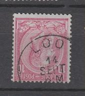 COB 46 Oblitération Centrale LOO - 1884-1891 Léopold II