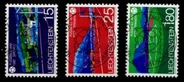 LIECHTENSTEIN 1982 Nr 799-801 Zentrisch Gestempelt X6E6A4E - Liechtenstein