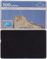 121/ Gibraltar, P5. Old Castle, 100 Ut.; 101K - Gibraltar