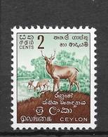 Sri Lanka 1958 Mi.No. 294 Deer 1v MNH**  0,30 € - Altri