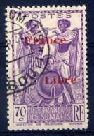 COTE DES SOMALIS  - 218° - GUERRIERS / FRANCE LIBRE - French Somali Coast (1894-1967)