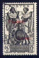 COTE DES SOMALIS  - 217° - GUERRIERS / FRANCE LIBRE - French Somali Coast (1894-1967)