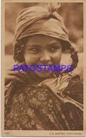 133402 AFRICA COSTUMES NATIVE GIRL NOMADE POSTAL POSTCARD - Ansichtskarten