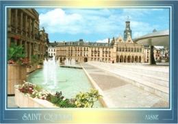 CPM 02 (Aisne) Saint-Quentin - Place De L'Hôtel-de-Ville TBE - Saint Quentin