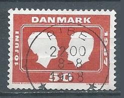 Danemark YT N°462 Noces Princières Oblitéré ° - Denmark