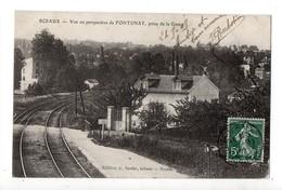 SCEAUX - Vue Ou Perspective De FONTENAY Prise De La Gare - 92 - Hauts De Seine - Sceaux