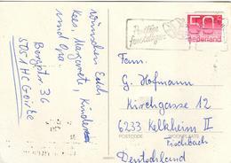 NL+ Niederlande 1979 Mi 1132 Ziffermarke Auf PK Kerze GH - Periodo 1949 – 1980 (Juliana)